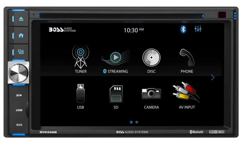 Boss Audio Systems BV9358B Car DVD Player