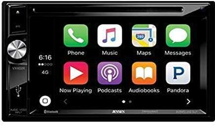 JENSEN 6.2-inch Double Din A/V Receiver