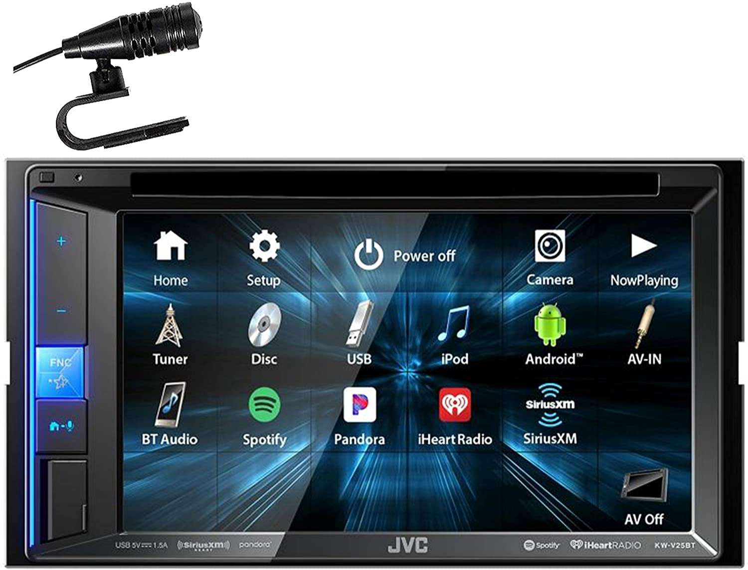 JVC 6.2-inch Resistive Touch Monitor