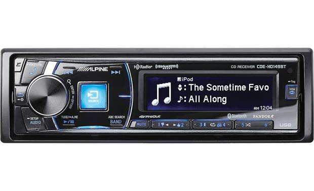 Alpine CDE-HD149BT Single Head Din Unit