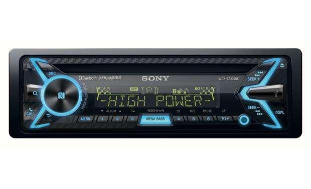 The Sony MEX-XB 100 BT